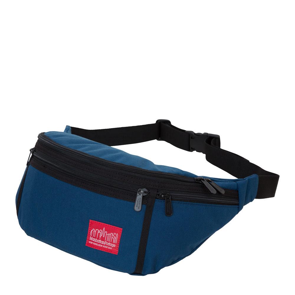 1102 風格腰包(L) 藍