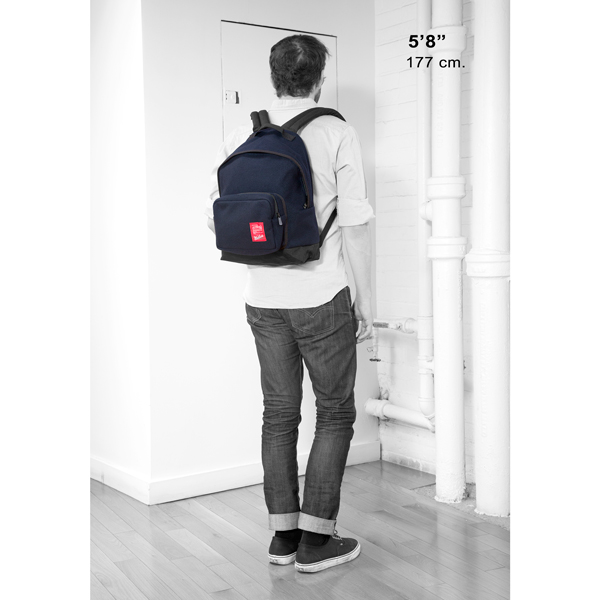 1209 WOOLRICH BIG APPLE BACKPACK(MD)大蘋果後背包 白黑