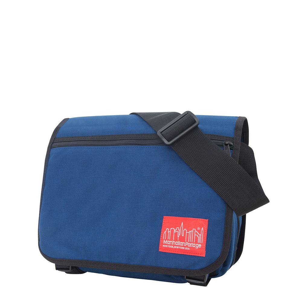 1435 可擴充式雙壓扣肩背包(S) 藍