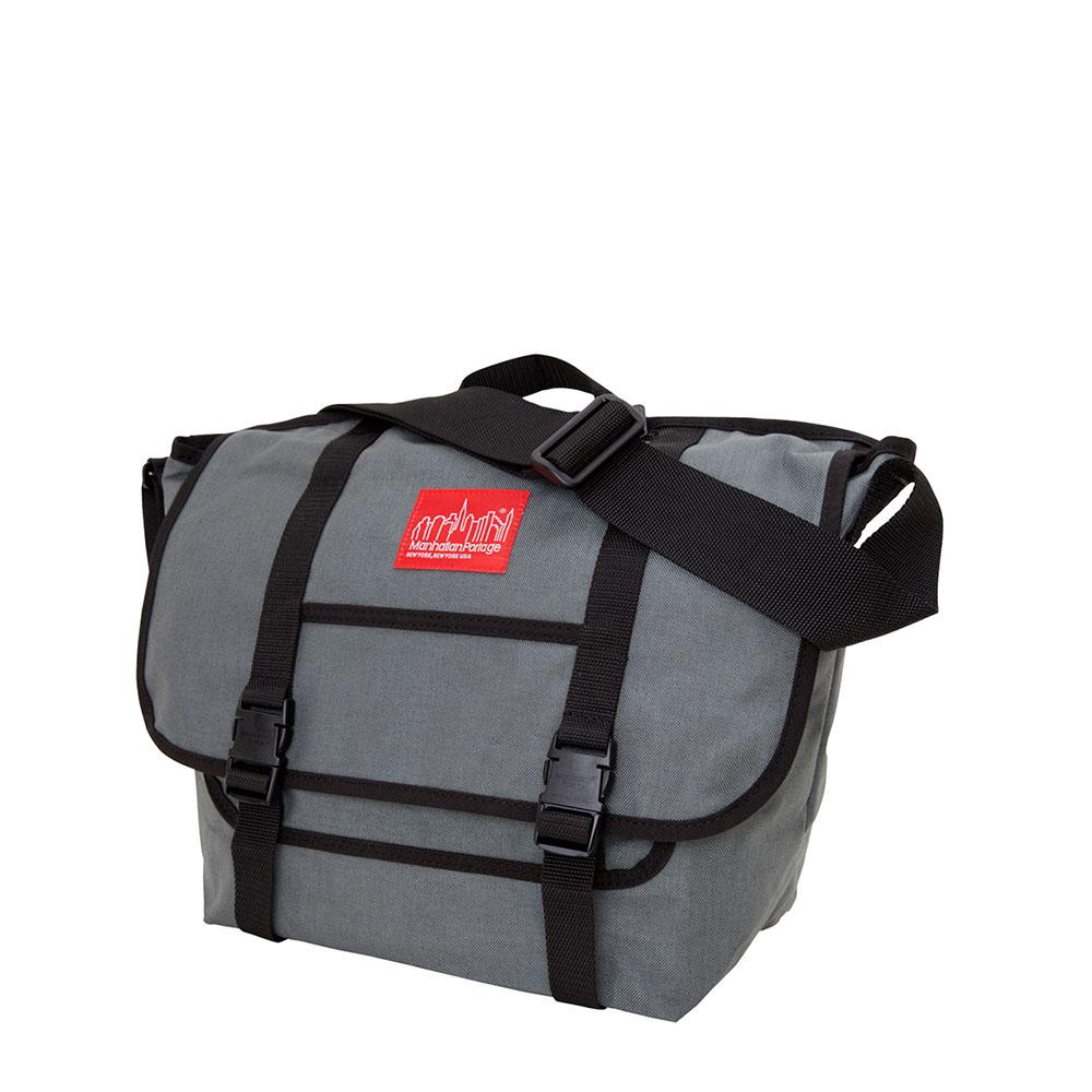 1606 NY MESSENGER BAG(MD) 紐約雙扣郵差包(M) 灰