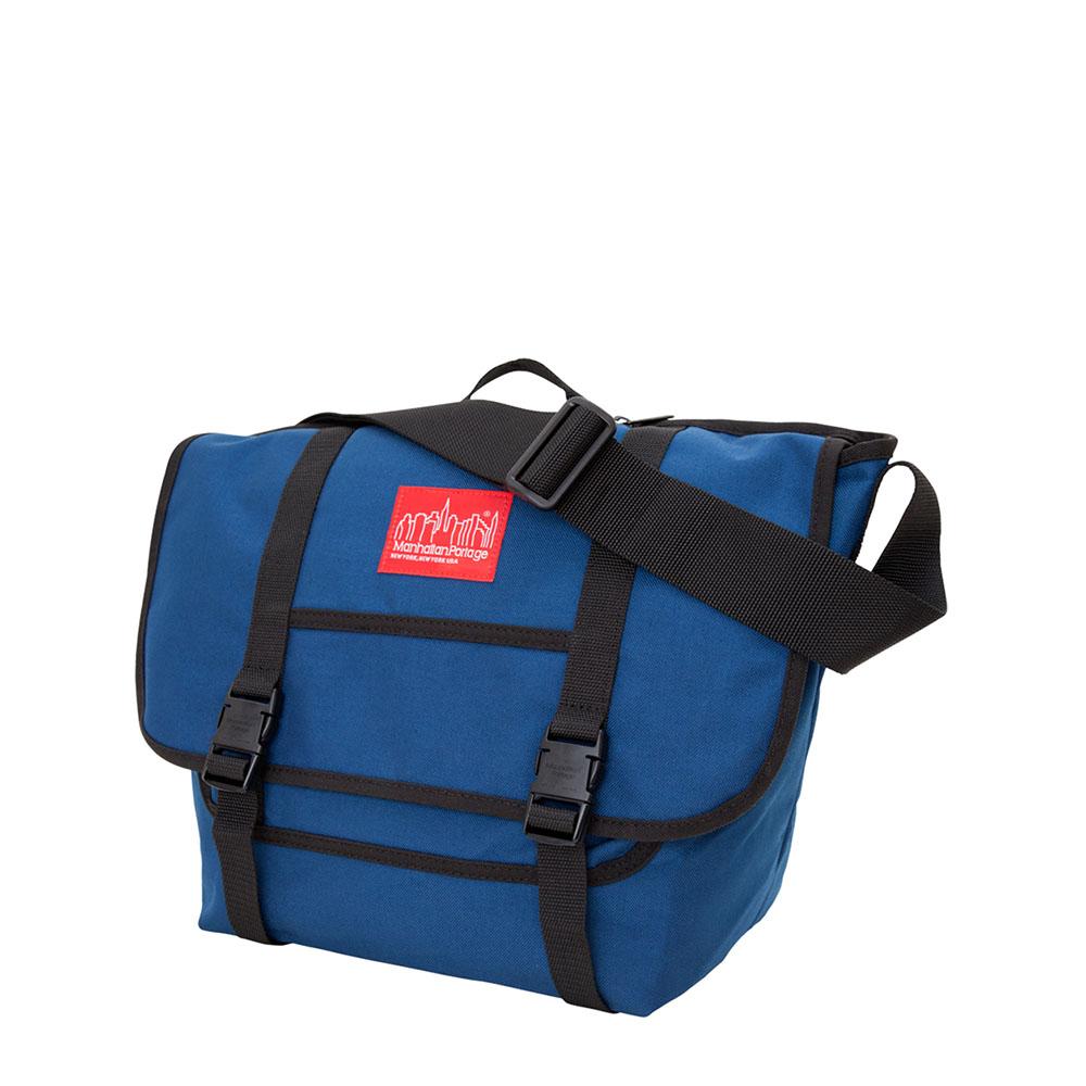1606 紐約雙扣郵差包(M) 藍