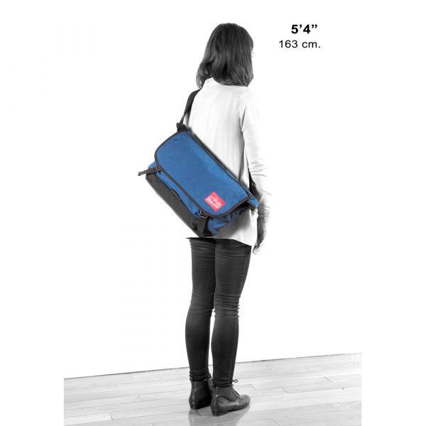 1642 背帶速調郵差包(M) 藍