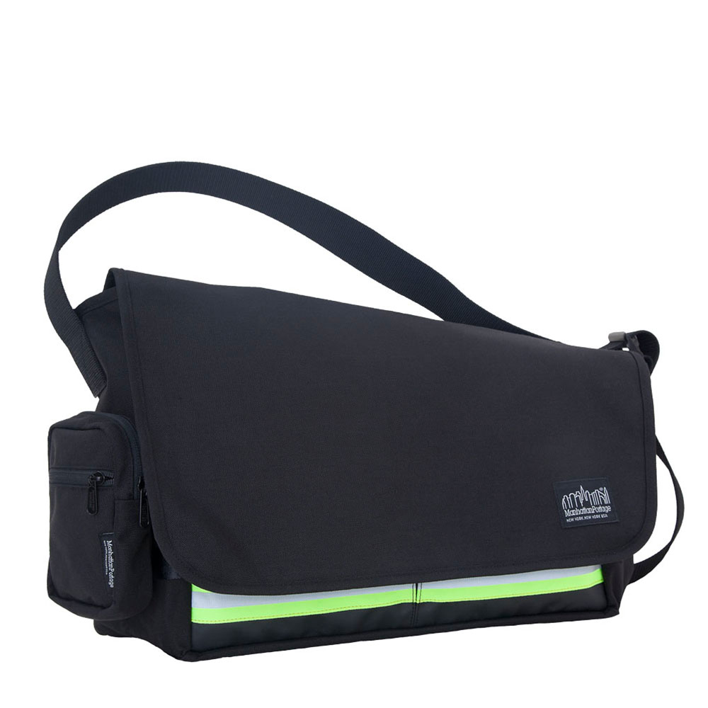 1650 TRINITY MESSENGER BAG(MD)崔尼第反光郵差包(M) 黑
