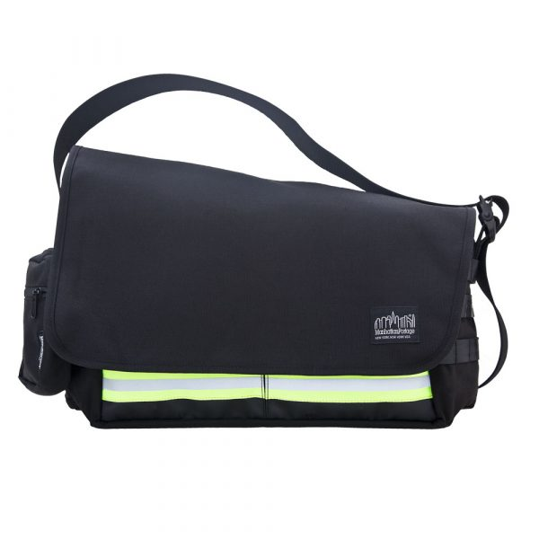 1650 TRINITY MESSENGER BAG(MD)崔尼第反光郵差包(M) 黑