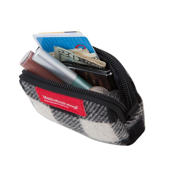 1008 WOOLRICH COIN PURSE WOOLRICH零錢包 紅黑