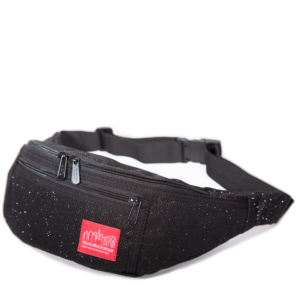 1101 MIDNIGHT ALLEYCAT WAIST BAG 星夜風格腰包 黑