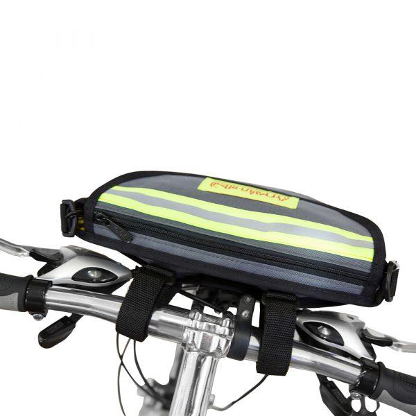 1654-LVL克利奇普萊斯腳踏車手把包 (亮面防水布內裡) 深藍 1654-LVL克利奇普萊斯腳踏車手把包