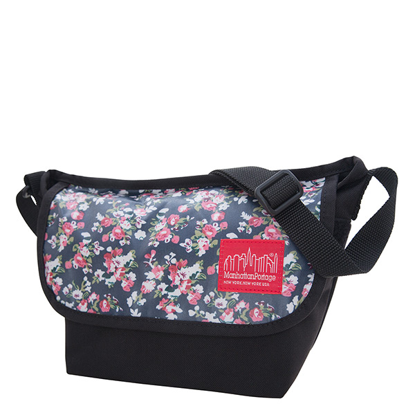 1603 FLORAL PRINT NYLON MESSENGER BAG XXS 防水郵差包 花色
