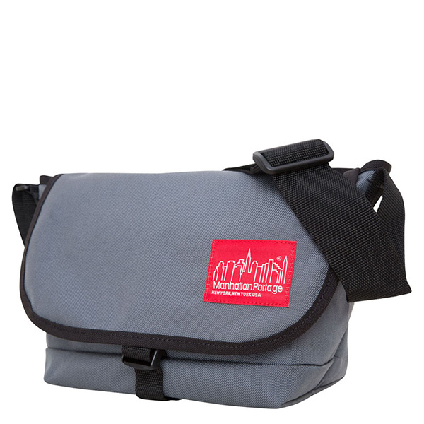 1645 STRAPHANGER MESSENGER BAG (SM) 單扣郵差包 灰