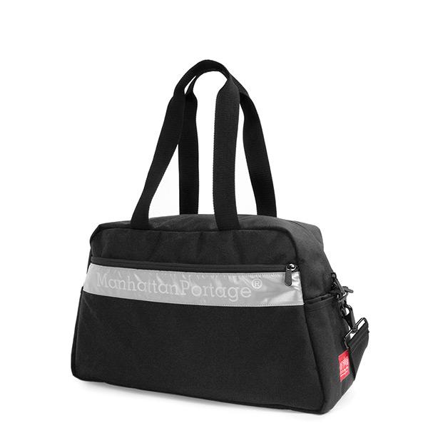 1331-REF-3 三代反光條設計旅行袋 黑