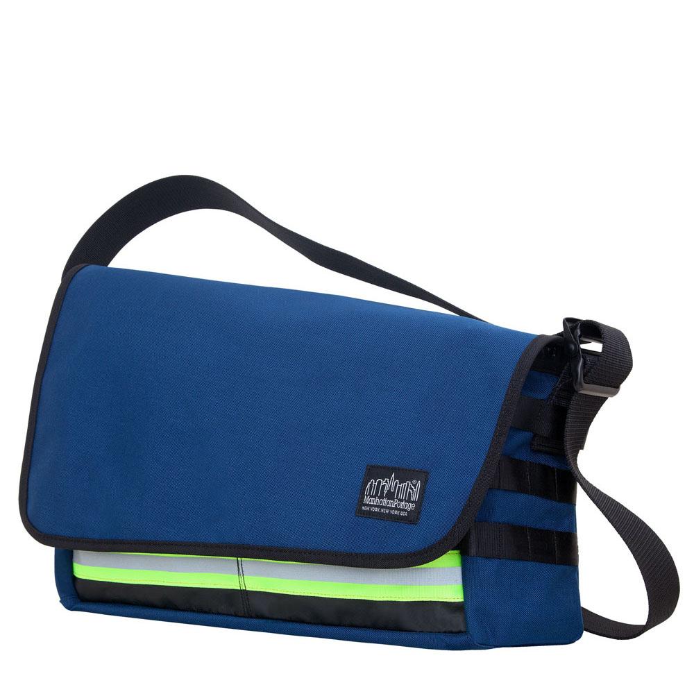 1650 崔尼第反光郵差包(M) 藍